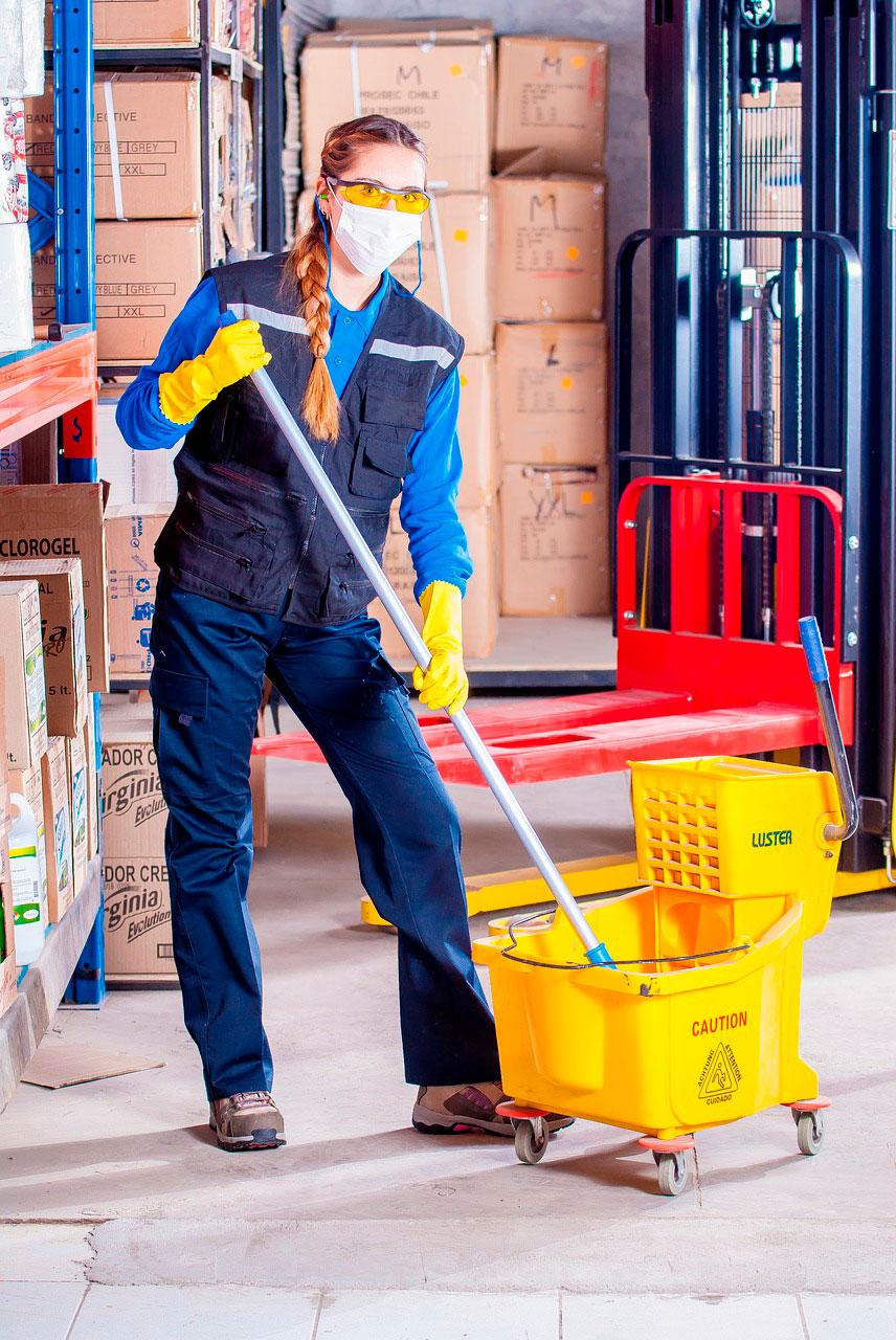 limpieza a domicilio para tu hogar o negocio